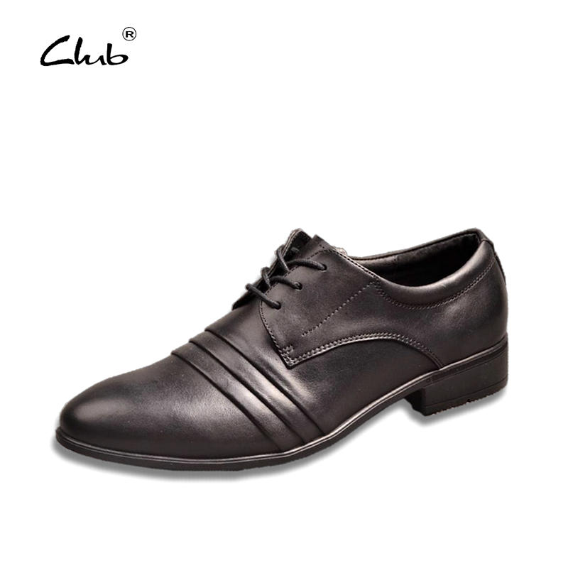 Club Fashion Italian Designer Formal Mens Dress Shoes Genuine Leather Black Luxury Brand Male Business Shoes Zapatos Hombre top quality crocodile grain black oxfords mens dress shoes genuine leather business shoes mens formal wedding shoes