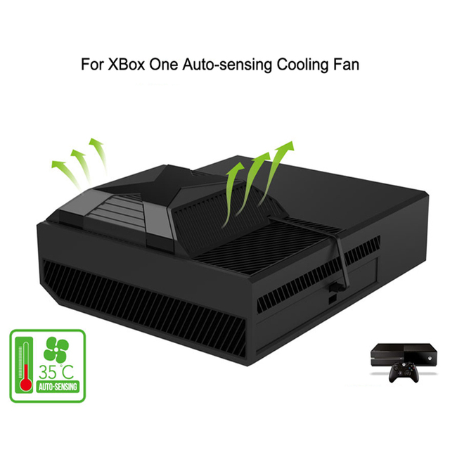 Ipega for xbox one extemal cooling fan usb power 35 degree auto ipega for xbox one extemal cooling fan usb power 35 degree auto sensing intercooler temperature ccuart Gallery