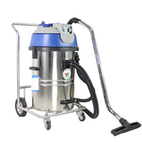 Industrial Vacuum Cleaner Dry Wet Dual Use Vacuum Cleaner 2000W Large Suction Commercial Dust Cleaning Machine Collector GS2060