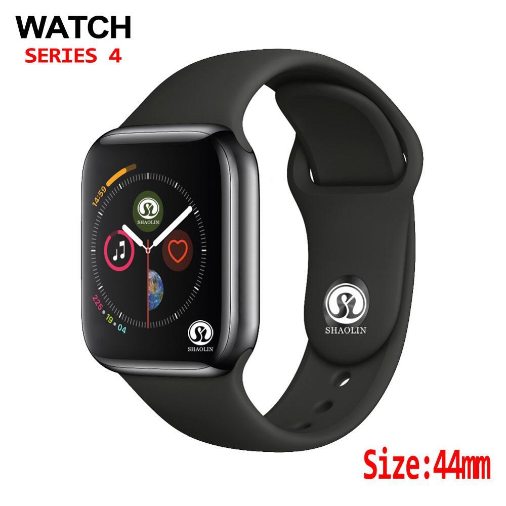 44mm montre 4 fréquence cardiaque boîtier de smartwatch pour apple montre iPhone Android téléphone mise à niveau montre série 4 1:1