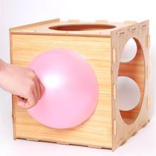 Balloon Sizer Box Balloon Measurement Tool For Balloon Arch Kit Balloon Tower Decor For Birthday Party Wedding Party Decorations(China)