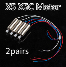Original Syma X5 X5C Motor 4PCS RC Quadcopter Spare Parts Motor X5C V272 H107 Replacements Accessories Registered Air Mail