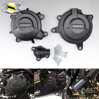 Для Kawasaki Ninja 400 2018 двигатели для автомобиля крышка протектор комплект Ninja400 аксессуары мотоциклов