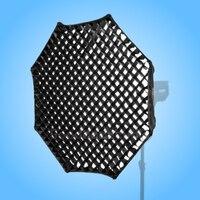 Godox Softbox Octagon 95 cm Grade de Favo De Mel w/V Tipo Multiblitz Varilux Speedring|honeycomb softbox|godox octagon|honeycomb grid softbox -
