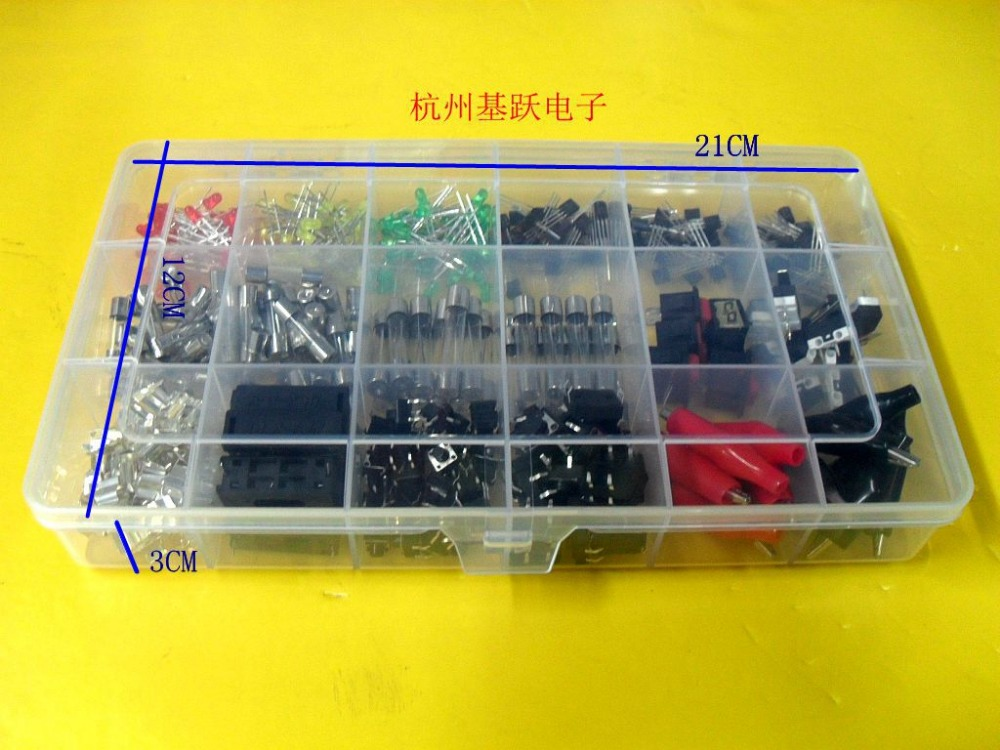 Electronic components PACKER switching transistor the arc tube fuse box 18 kinds of alligator clips element tube towel picture more detailed picture about electronic fuse box components at soozxer.org