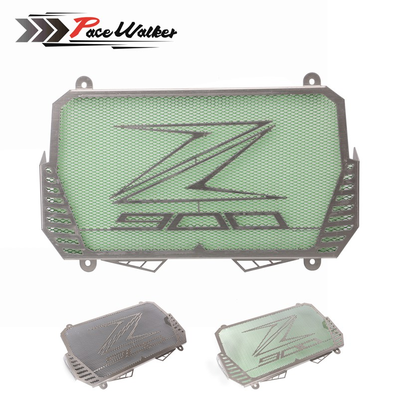 New Arrival For Kawasaki Z900 2017 Stainless Steel Motorcycle radiator guard protector cover Bezel Grille motorcycle radiator grille grill guard cover protector golden for kawasaki zx6r 2009 2010 2011 2012 2013 2014 2015