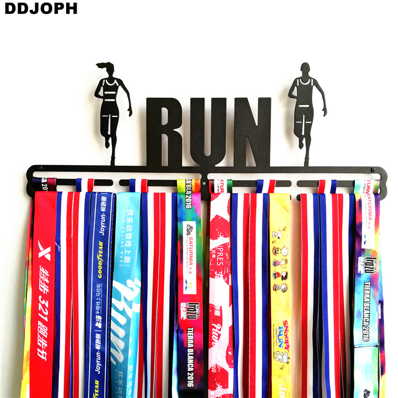 RUN medaillehanger Sportmedaille displayhanger voor Runner - Home opslag en organisatie