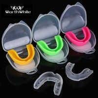 Lohnende Sport Mund Wache EVA Zähne Beschützer Kinder Erwachsene Mundschutz Zahn Klammer Schutz Basketball Rugby Boxen Karate