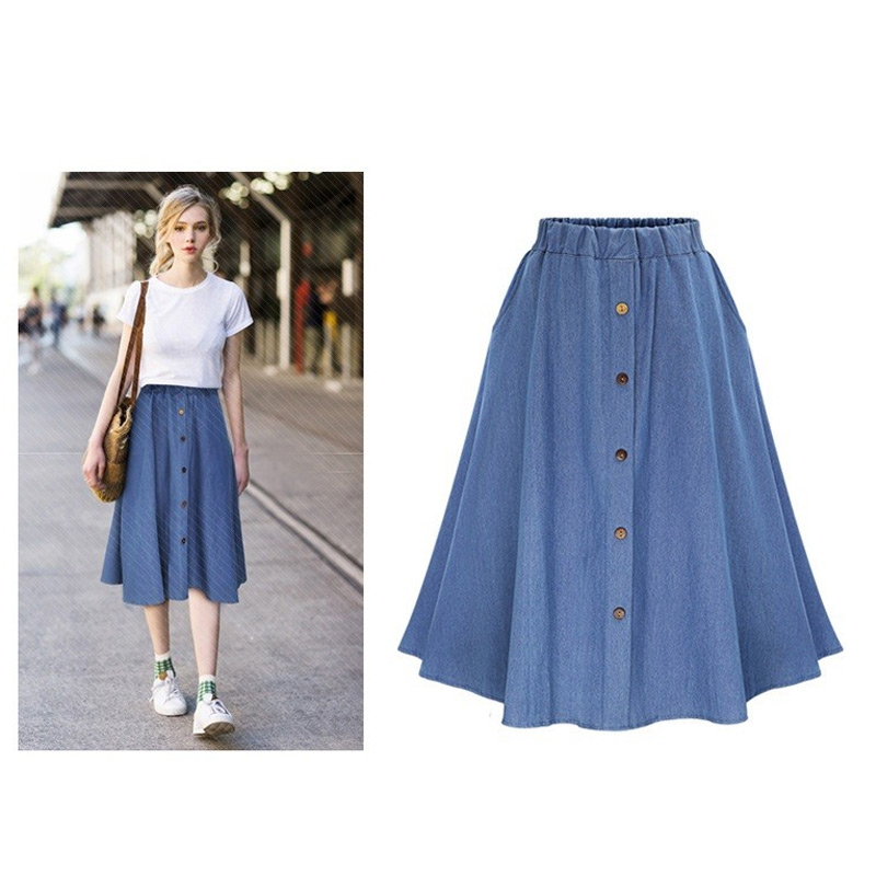 High Quality Flare Denim Skirt-Buy Cheap Flare Denim Skirt lots ...