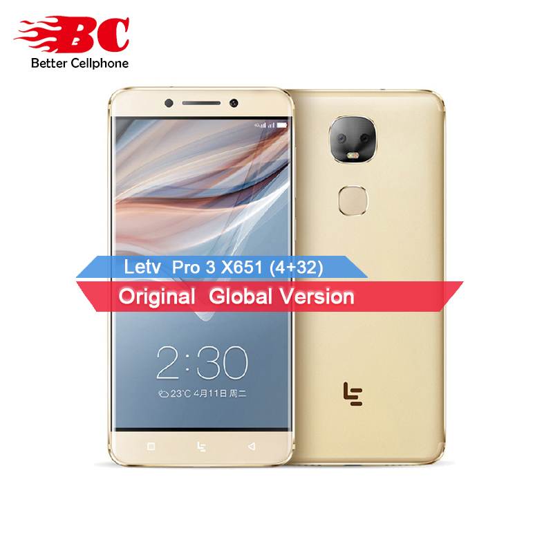 "Letv LeEco Le Pro 3 Dual Camera AI Edition X651 Cell Phone MTK6797D Deca Core RAM 4GB ROM 32GB 5.5"" 13MP Dual Camera Smartphone"