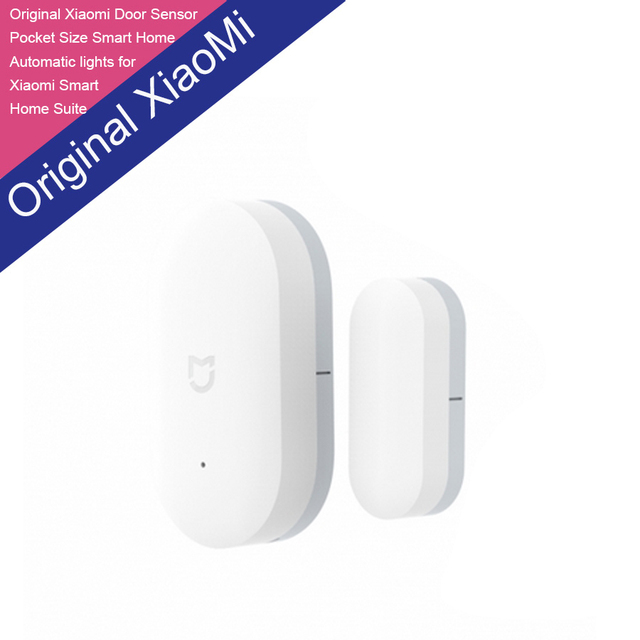 100% New Original Xiaomi Intelligent Mini Door Window Sensor Pocket Size Smart Home Automatic lights for Xiaomi Smart Home Suite