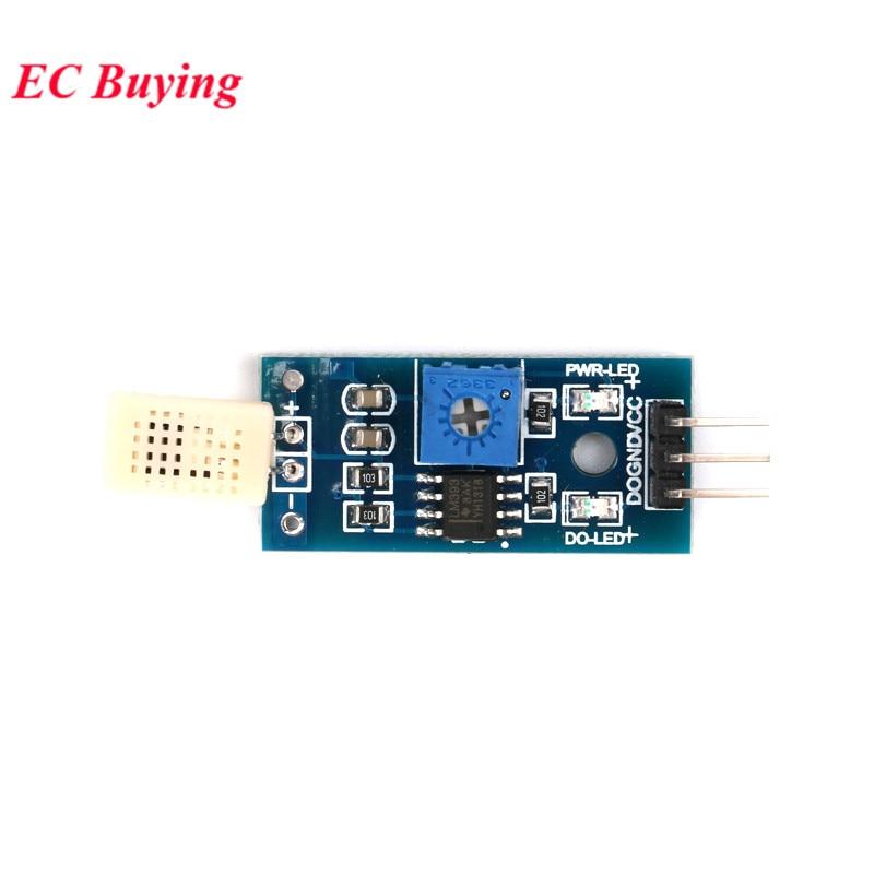 HR202 датчик влажности HR202 конденсационный датчик влажности модуль обнаружения влажности DC 3,3 V-5 V с индикатором микросхемы LM393