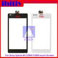 """Высокое качество 4.0 """"Для Sony Xperia M C1904 C1905 Сенсорным Экраном Дигитайзер Датчик Стекло Объектива Панель с Отслеживая информацией"""
