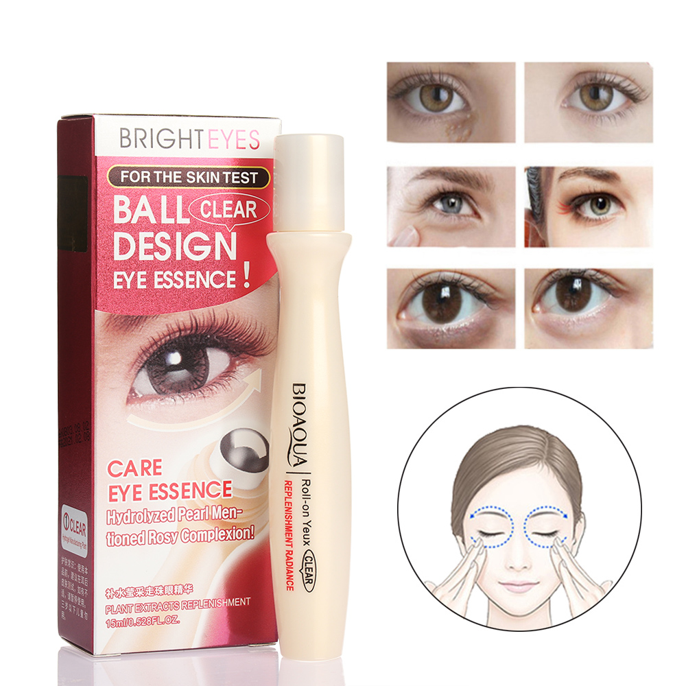 1 Pc Baru Bioaqua Merek Perawatan Kulit Anti Kerut Krim Mata Eye Care Essense Serum Keriput Menghilangkan Lingkaran Hitam Pelembab Pemutih Firming Cream 15g Di Wajah