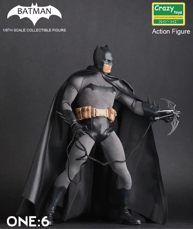 Batman 1 6th Scale Collectible Figure Crazy Toys Action Figures Batman ONE 6 Doll PVC Action
