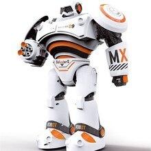 все цены на RC Robot Intelligent Programming Remote Control Robotica Toy Biped Humanoid Robot For Children Kids Birthday Gift Prese онлайн