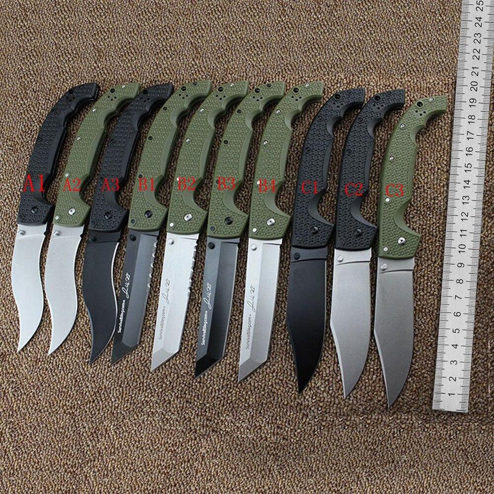 29UXTGH Voyager XL 10 Models Folding Survival Knife 8CR13MOV Blade Folding Blade TANTO Outdoor Camping Survival EDC Tool Knives