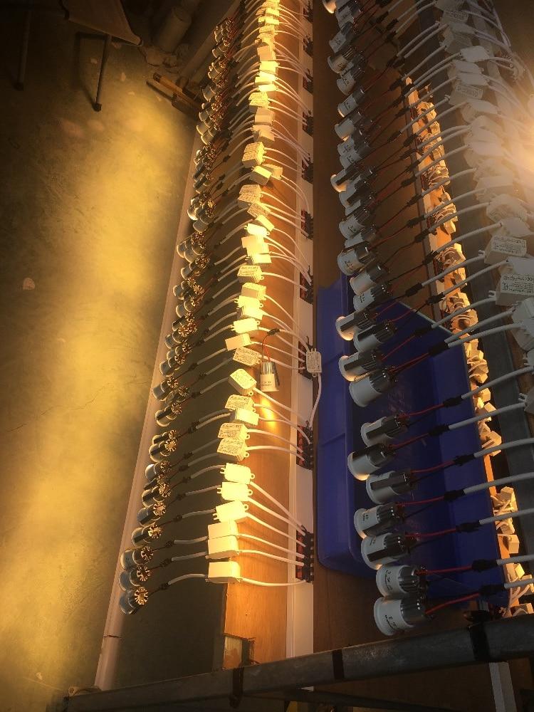 led luzes de ponto teto recesso cob