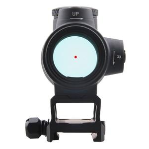 Image 4 - Vektör optik Centurion 1x30 kırmızı nokta görüşü taktik kapsam geniş açı görüş 20,000 saat çalışma süresi tüfek hava tabancası av tüfeği