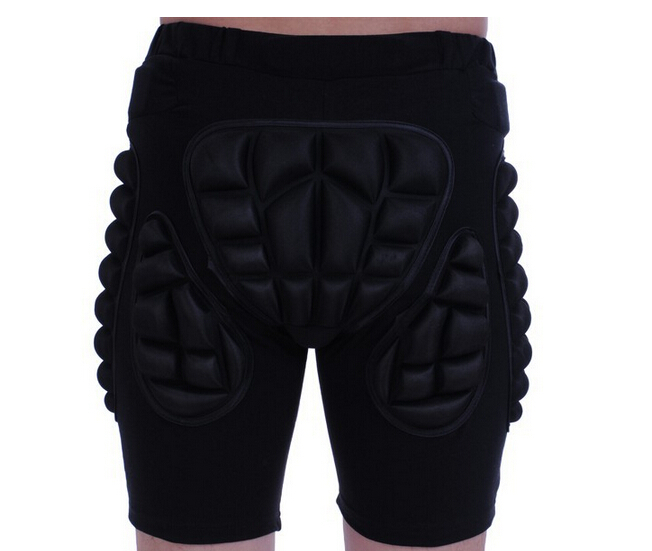 SizeS-XXL Protective gear Hip Padded Shorts Skiing Skating Snowboard and motorcycle shorts motorcross bicycle Hip Padded