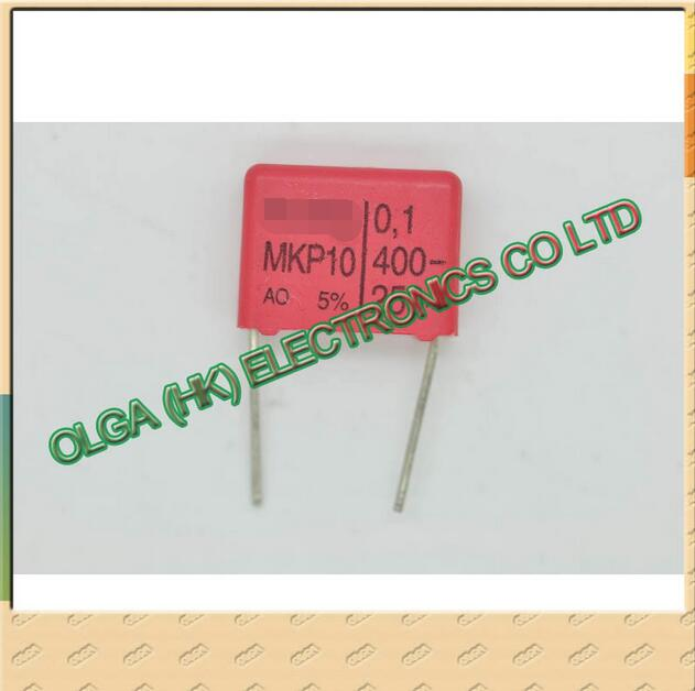 Electronic Components & Supplies Passive Components German Wei Ma Mkp10 Film Capacitor 0.1uf 104/400v 100nf P= 15mm High Quality Materials