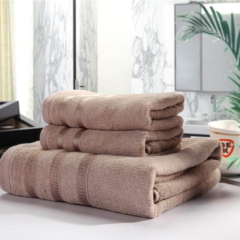 Travel Towel Bamboo: Luxury 3 PCS Hotel Travel Bamboo Beach Bath Towel Set For