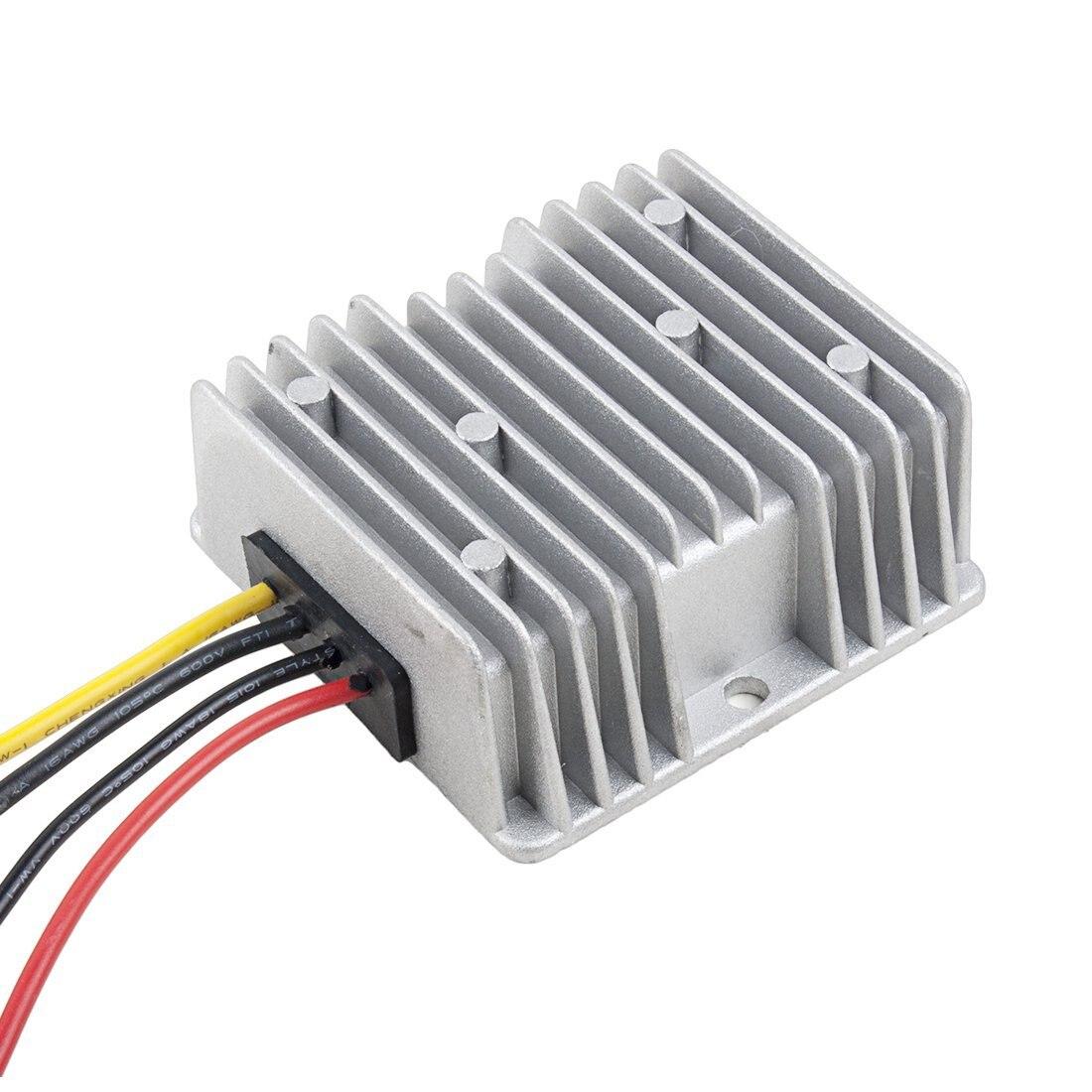HOT-Power Converter Regulator DC12V/24V Step-Down to DC6V 15A 90W Waterproof Voltage Convert Transformer