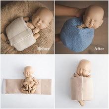 New!Baby Photo Shoot Blanket Wraps Posing Props Assistant Newborn Photography Props Basket Filler Fotografia Baby Accessories цена в Москве и Питере