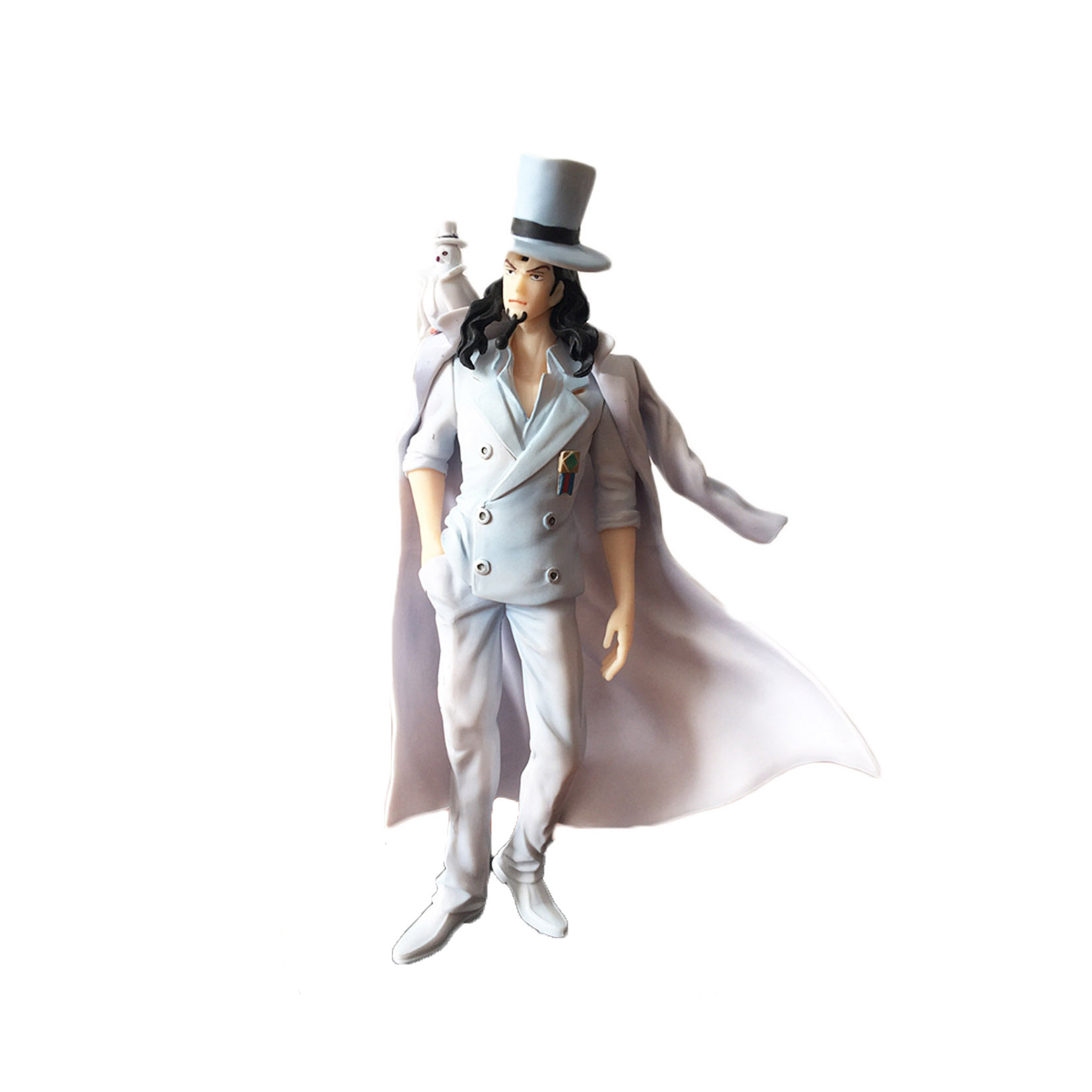 Chanycore Anime ONE PIECE GOLD Ver onepiece NEW WORLD PVC Action Figures 16CM CP9 Rob Lucci collect model toys classic anime 25cm cp9 rob lucci one piece anime collectible action figures pvc collection toys men kids christmas gift