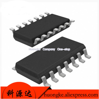 10PCS/LOT LM2901 LM2901DR LM2901DT Patch SOP-14 Quad Voltage Comparator image