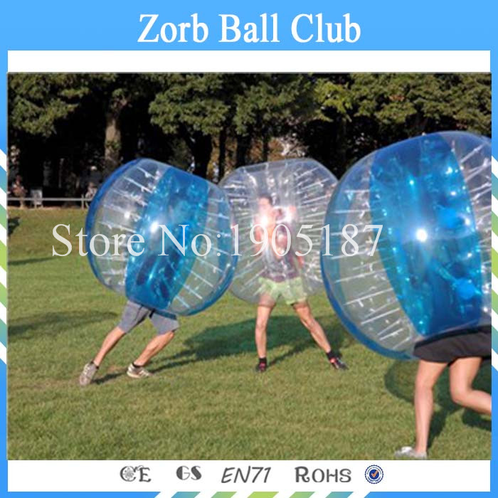 Free Shipping TPU Inflatable Body Zorb Ball Bumper Ball Soccer Bubble Wholesale Factory Price