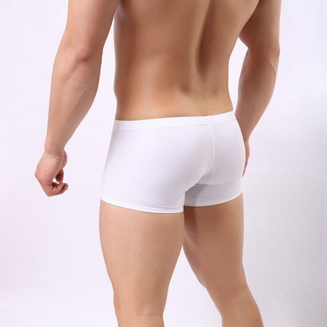 Men's sexy shorts male g string thongs bikini
