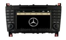 D'origine INTERFACE Lecteur DVD de Voiture pour Mercedes/Benz Classe C W203 W219 C200 C220 C230 C240 C250 C270 C280 CLK200 CLK220 avec GPS BT