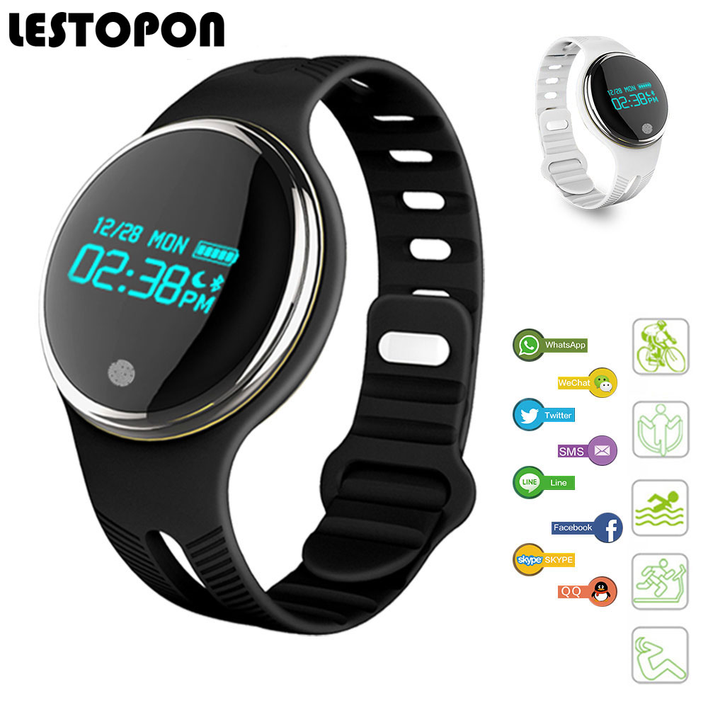 LESTOPON Modo Smartband Braccialetto Bluetooth Nuoto Pedometro Sonno Inseguitore di Fitness Sport Banda Intelligente Per IOS Android Phone