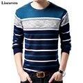 Liseaven Marke Casual Pullover O-ansatz Slim Fit Strick Herren Pullover Und Pullover Männer Pullover