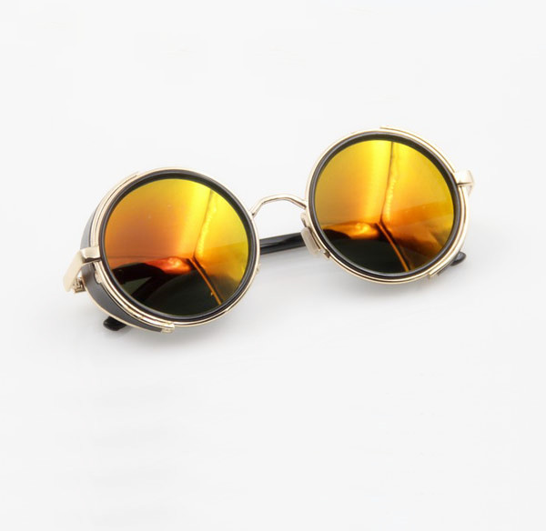 HELLSING Anime Alucard Vampire Hunter Tailored Cosplay Glasses Orange Sunglasses sunglass