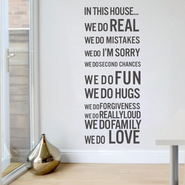 Online Get Cheap Wall Stickers Home Decor Quotes Love House Home