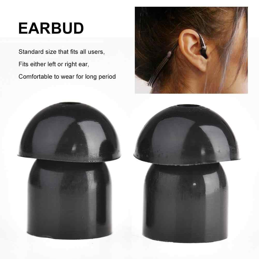 Air Duct Earphone Earplug Head Mushroom Head Hearing Aid Silicone Tube Style Earpieces Mushroom Earbuds Acoustic Tube Headset
