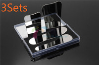 Brand New 3Sets Dentist Oral Stainless Steel Photographic Mirror Reflector