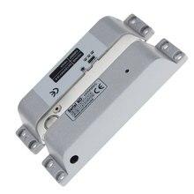 Yeni tasarım yüzeye monte elektrikli cıvata kilit DC12V güvenli için ahşap kapı sürgü NC modu güvenli elektronik kapı kilidi