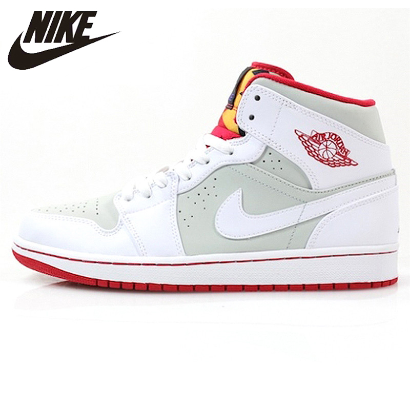 newest lower price with on feet shots of US $89.0 50% OFF|Nike Air Jordan 1 Mid Hare AJ1 Bugs Bunny Women's  Basketball Shoes Sneakers, Original Outdoor Comfortable Shoes 719551 123-in  ...