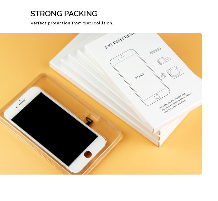 100% протестированный ЖК дисплей s8 с рамкой и сенсорным экраном