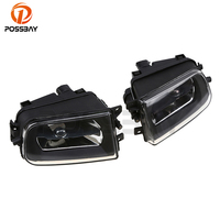 High Quality Auto Car Front Driving Bumper Fog Lights Lamps Without Light Bulbs For BMW E39