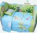 Berço cama / berço conjuntos de cama / cama ( bumper + edredon + colchão + travesseiro )