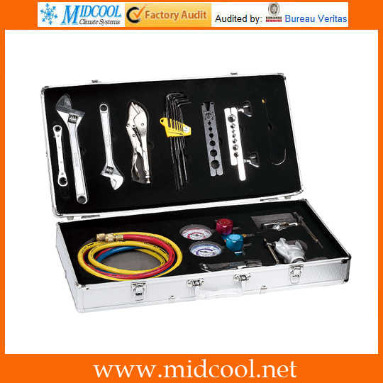 TOOL KIT FOR COMMERCIAL A-C MAINTENCE AND REPAIR WORK LX3133TOOL KIT FOR COMMERCIAL A-C MAINTENCE AND REPAIR WORK LX3133
