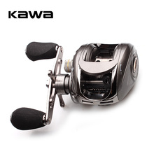 Kawa  Baitcasting Fishing Reel 6BB 5.1:1 Bait Casting Right Hand Reel Magnetic Brake System Water Drop Wheel