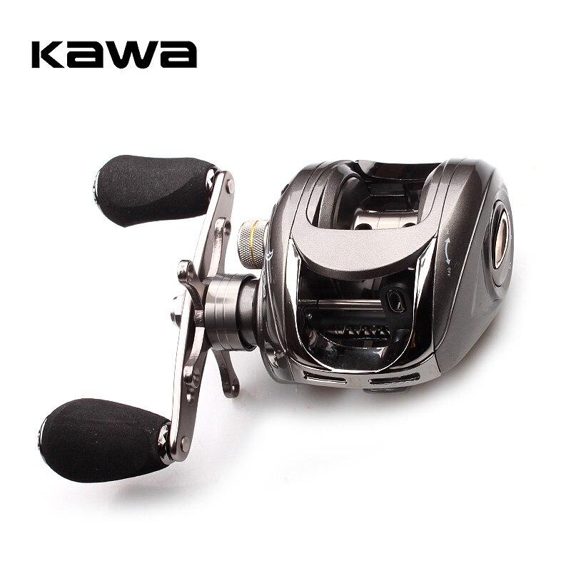 Kawa Baitcasting Angeln Reel 6BB 5,1: 1 Köder Casting Rechte Hand Reel Magnetische Bremse System Wasser Drop Rad