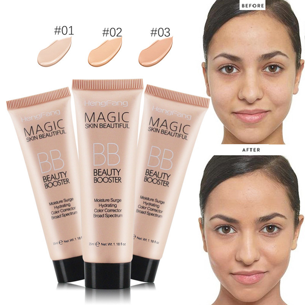 Liquid Foundation Concealer Blemish Lipstick BB Facial Makeup Light Dark Makeup Facial Primer Makeup Tool