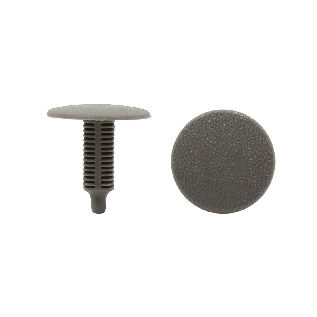 uxcell 30 x Rivets Fastener Fender Bumper Pin Clips 7.5mm