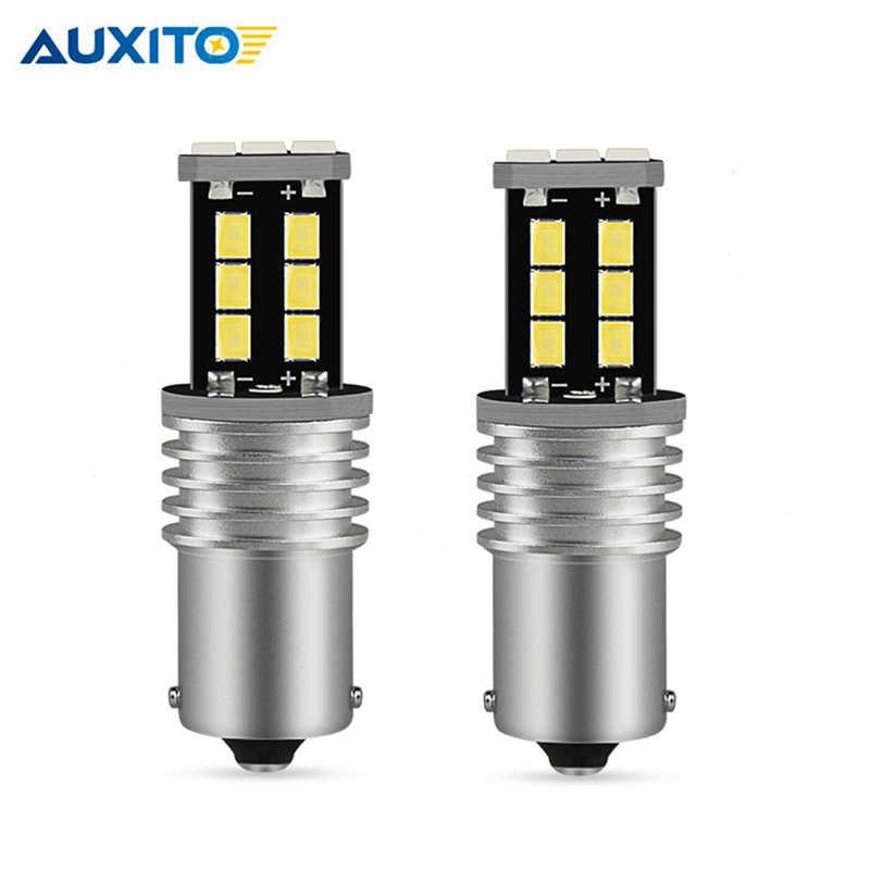 2x P21W LED Canbus 1156 BA15S LED 2835 Car Turn Signal Light